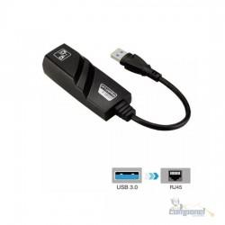 Conversor Adaptador USB 3.0 X RJ45 Gigabite 10/100/1000